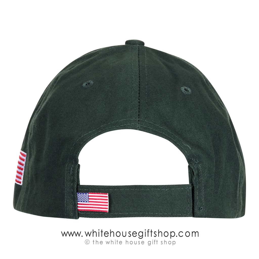White house golf cap cotton twill hat made in america usa regular price 3795 thecheapjerseys Image collections