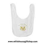 Baby Bib, 100% Cotton, Made in USA