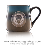 Air Force One Presidential Large 16 Ounce large Artisan Mug, etched in America, United States Eagle, quality mugs from official White House Gift Shop.