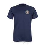 Air Force One Presidential Crew T-Shirt, Navy Blue