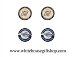 President & Whitre House Cufflinks