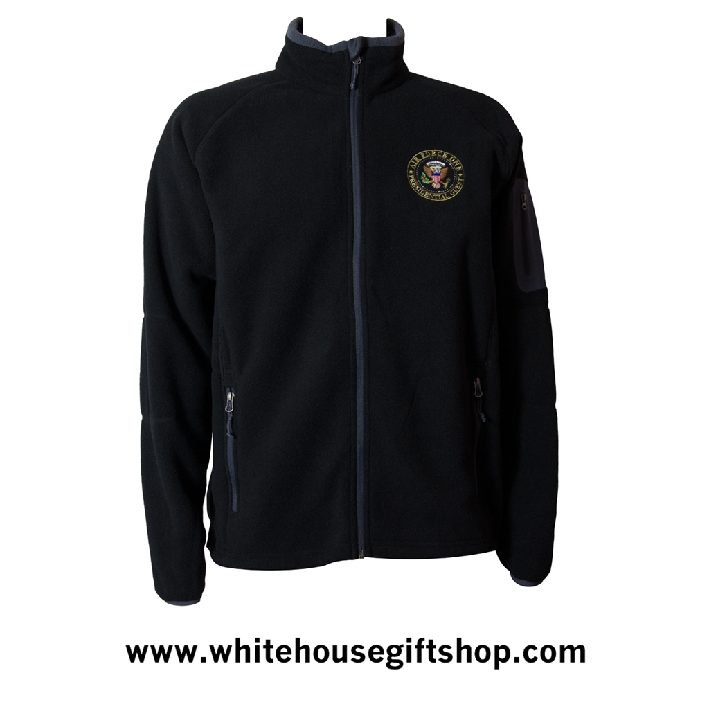 7fb2801b2 The Air Force One White House Presidential Guest Fleece Jacket from ...