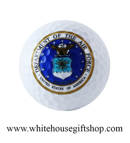 USAF Golf Ball, Department of the Air Force, Gift Boxed