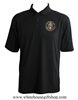 Air Force One Presidential Guest Polo, black