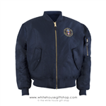 Air Force One Presidential Guest Flight Jacket, Navy Blue