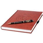Air Force One Journal or Log Book and Full Logo Ink Pen  with the Seal of the President