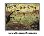 Apple Tree Throw Blanket