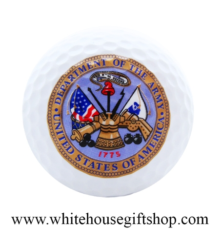 Army Golf Ball, Department of the US Army, Gift Boxed