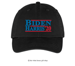 Joseph R. Biden and Kamala Harris 2020 Hat in Black, 44th President of the United States, 46th President of the United States, Official White House Gift Shop Est. 1946 by Secret Service Agents