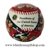 All Presidents of the United States Baseball Including Donald J. Trump from the Official White House Gift Shop Established 1946 by Presidential Order and U.S. Secret Service