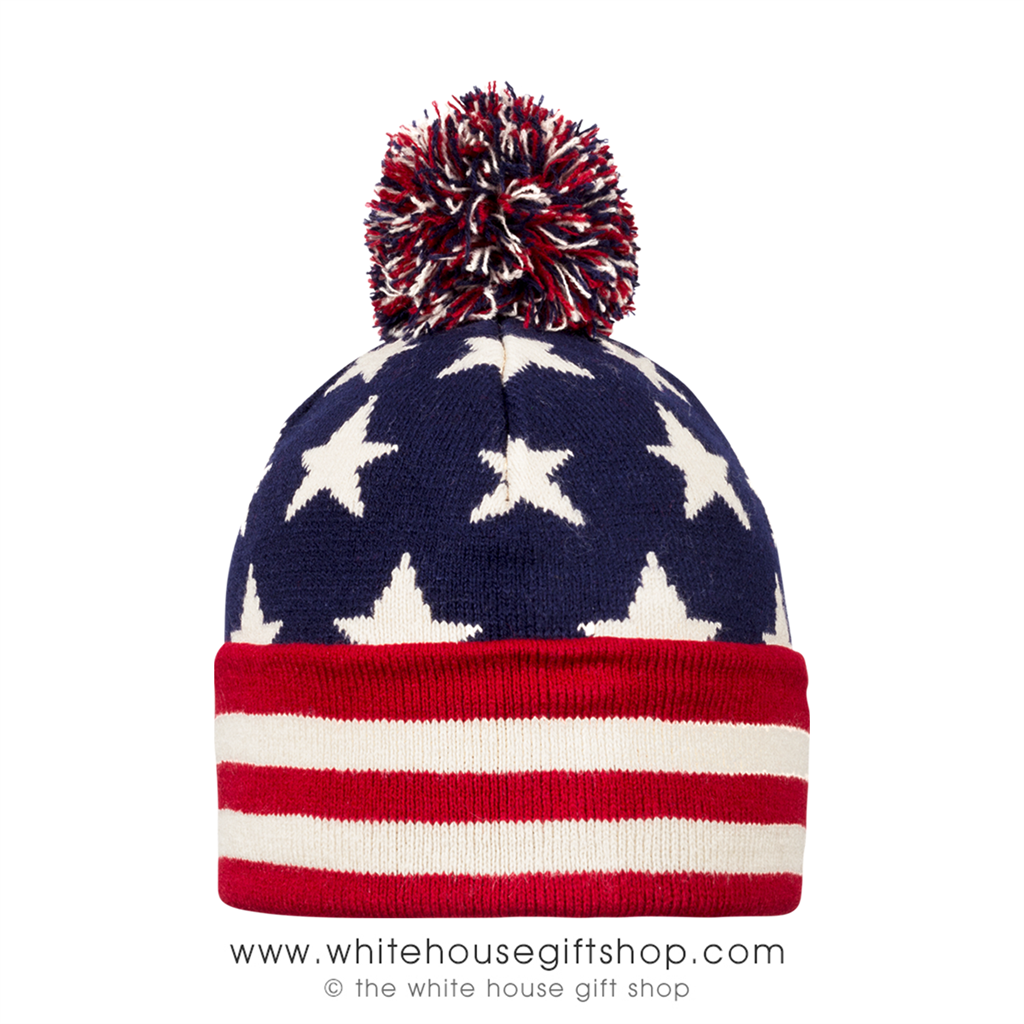 US Flag KNIT BEANIE Hat Cap 3a2e7834f9e