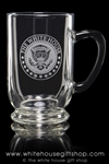 White House Classic Glass Beer or Coffee Mug