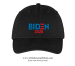 Joseph R. Biden 2020 Hat in Black, 46th President of the United States, Official White House Gift Shop Est. 1946 by Secret Service Agents