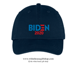Joseph R. Biden 2020 Navy Blue Hat, 46th President of the United States, Official White House Gift Shop Est. 1946 by Secret Service Agents