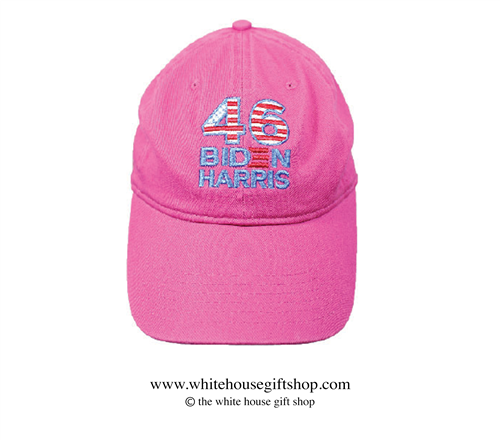 Joseph R. Biden Light Pink Hat, 46th President of the United States, Official White House Gift Shop Est. 1946 by Secret Service Agents