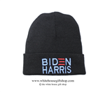 Joseph R. Biden Beanie in Black, 46th President of the United States, Official White House Gift Shop Est. 1946 by Secret Service Agents