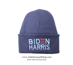 Joseph R. Biden Beanie in Navy, 46th President of the United States, Official White House Gift Shop Est. 1946 by Secret Service Agents