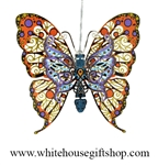 Michelle Obama, Firstt Lady Pollinator Garden, Vibrant Meadowflower Butterfly Ornament & Commemorative