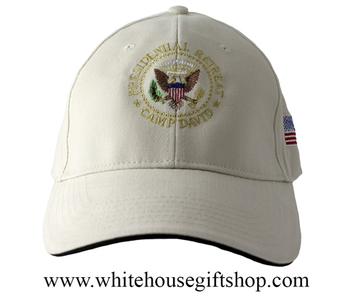 Camp David Presidential Retreat Khaki Hat