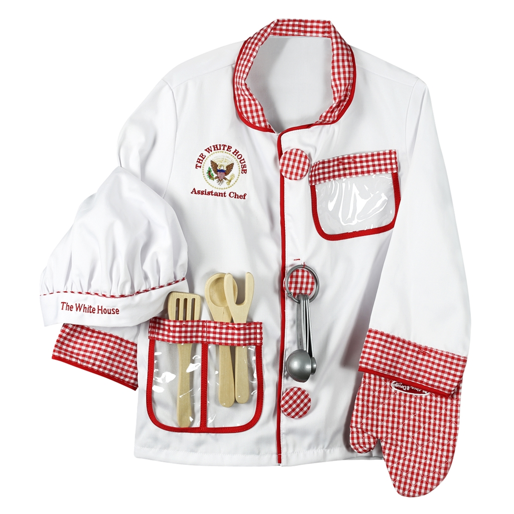 The White House Assistant Chef Uniform Embroidered with ...