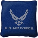 USAF Pillow with Chevrons, 100% Cotton- Made in the USA