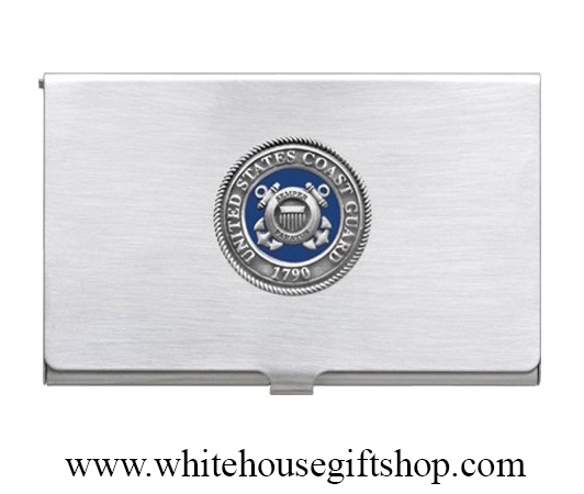 Missing box polybagge heritage pewter coast guard business card heritage pewter coast guards business card case colourmoves