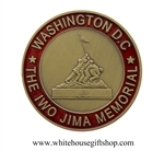 Marine Corps, USMC, Iwo Jima Brass Memorial Coin from the Official White House Gift Shop.