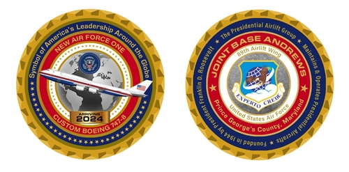 The New Air Force One Colors Announced by President Trump. Air Force One in Red, White, and Blue. The Official White House Gift Shop.