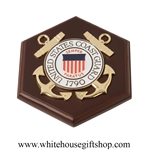 United States Coast Guard, USCG, 7 inch Wall Plaque Medallion, Made in the USA, Select Box Type