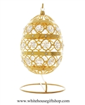 The White House Crystal and Gold Easter Egg
