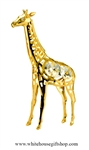 Gold Adult Giraffe Ornament