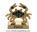 Gold Constellation Zodiac Collection: Cancer