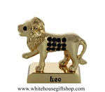 Gold Constellation Zodiac Collection: Leo