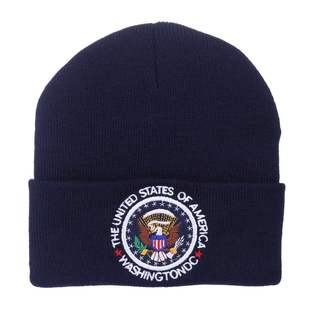 Seal of the President Knit Beanie Hat 2047cd80bf8