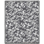 Military blanket throw camouflage