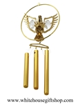 Crystal Eagle Wind Chimes