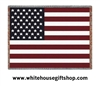 American Flag Luxury Cotton Blanket Throw, 69 by 48 inches, Machine Wash and Dry, SEE Matching Pillow,  Made in the USA, Great Veteran Gift!