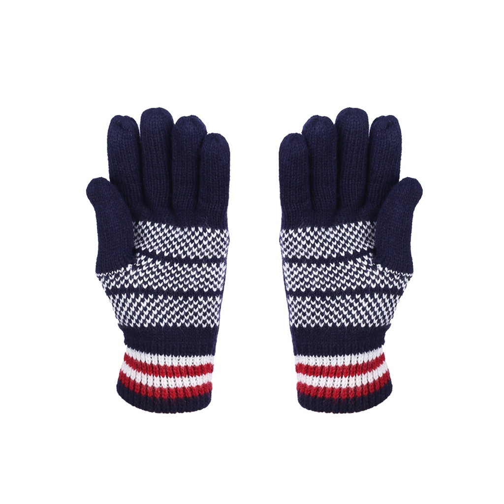 Very Knit USA Flag Winter Gloves for Men TK96