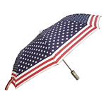 Patriotic AMERICAN FLAG Umbrella, TRAVEL SIZE,  USA Flag Design, SOLD OUT