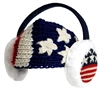 American Flag Headband and Earmuffs