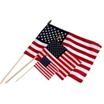 White House USA Stick Flag