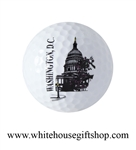 Golf Ball, United States Capitol Building, Washington D.C. Gift Boxed