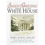 Seasons Greetings, from Presidential Book collection a vintage hard back book from The White House Gift Shop with gold foil seal on back cover