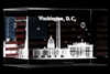American Flag Glass Cube-Hologram-Giannini-Photographer-White House