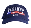 Hillary Clinton for President, royal blue Signature hat or cap from the White House Gift Shop and Gifts Collection for Presidential Campaign 2016 and Inauguration 2017/