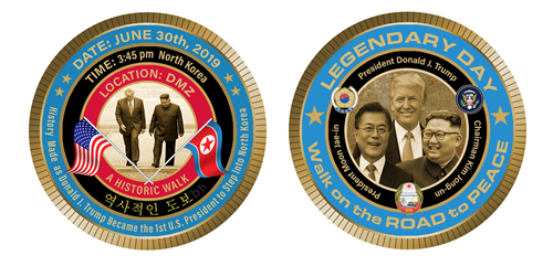 president-trump-korea-peace-talks-summit-coin-commemorative-white-house-gift-shop-summit-cancelled-summit-on-reported-in-news-social-media-anthony-giannini-coins-designer-mh-designer-white-house-gifts-white-house-historical-association-kim jong-un-potus