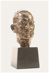 President Dwight D Eisenhower, IKE, Bronze Finish Bust, Statue 10.5 inches