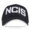 NCIS HAT, Cap, NAVAL Intelligence, Black bold embroidery on front and letters on back adjustable velcro strap, Import
