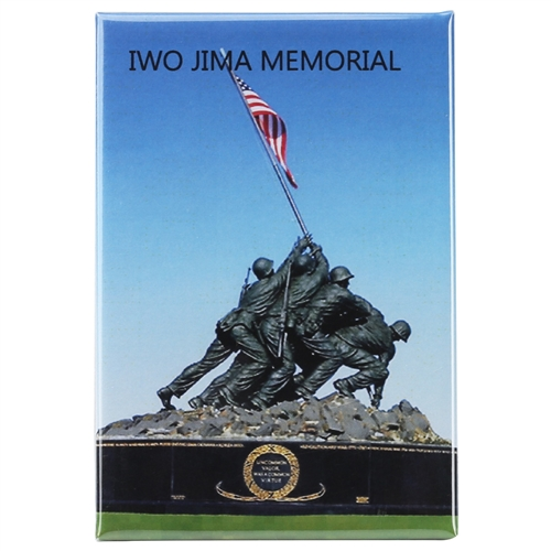 Memorial Statue of Iwo Jima Soldiers