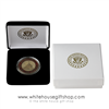 Iwo Jima Challenge Coin IN CUSTOM DISPLAY CASE WITH PRESIDENTIAL SEAL ON VELVET CASE AND PRESENTATION CASE, SEMPER FI, USMC, From Official White House Gift Shop Gifts Store